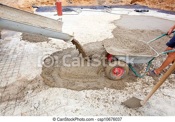 бетон работает на