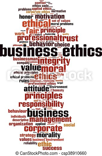 бизнес, ethics-vertical - csp38910660