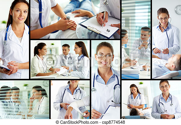 больница - csp8774548