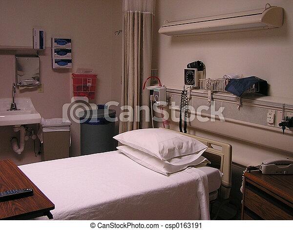 больница, комната - csp0163191