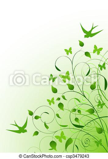 весна, задний план - csp3479243
