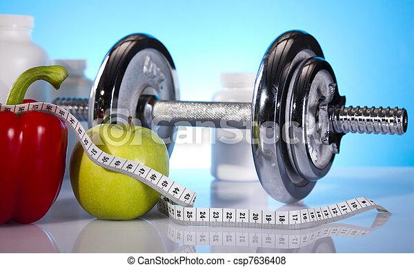 вес, фитнес, потеря - csp7636408