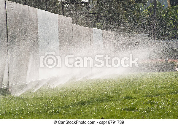 воды, разбрызгиватель - csp16791739