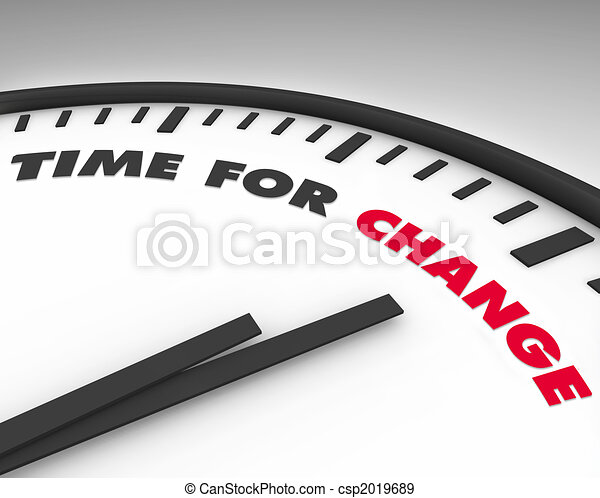 время, -, изменение, часы - csp2019689