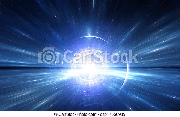 время, путешествие, space., деформироваться - csp17550939