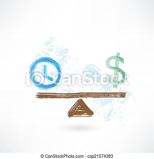 деньги, баланс, время - csp21574383