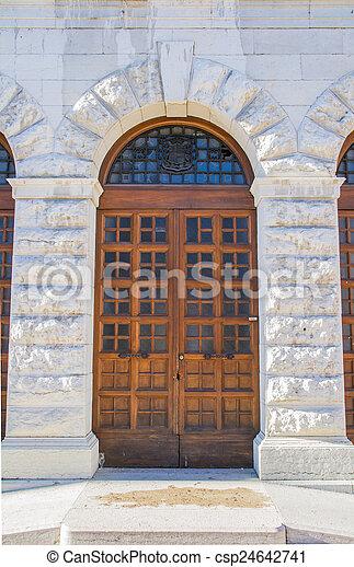 деревянный, портал - csp24642741