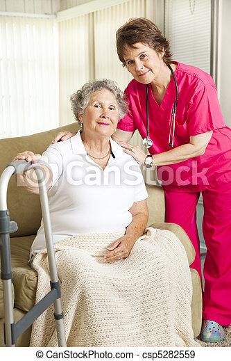 достоинство, выход на пенсию - csp5282559