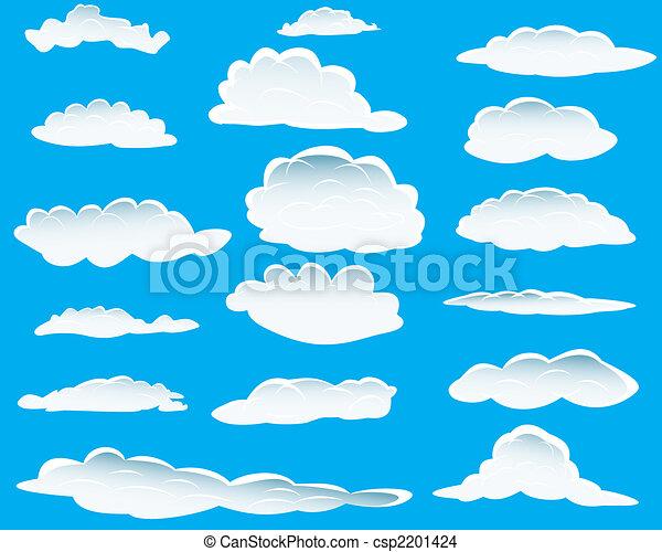 другой, clouds - csp2201424