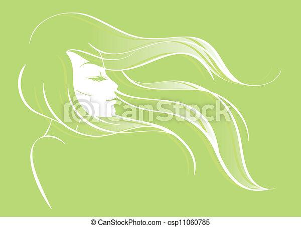 женщина, красота - csp11060785