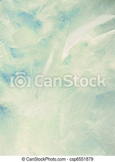 задний план, пушистый, cloud-like, feathers - csp6551879