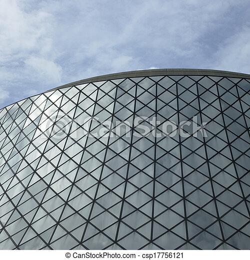 здание, стакан - csp17756121