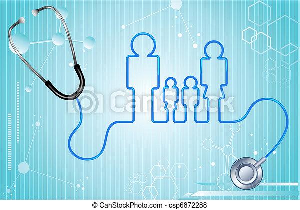 здоровье, страхование, семья - csp6872288