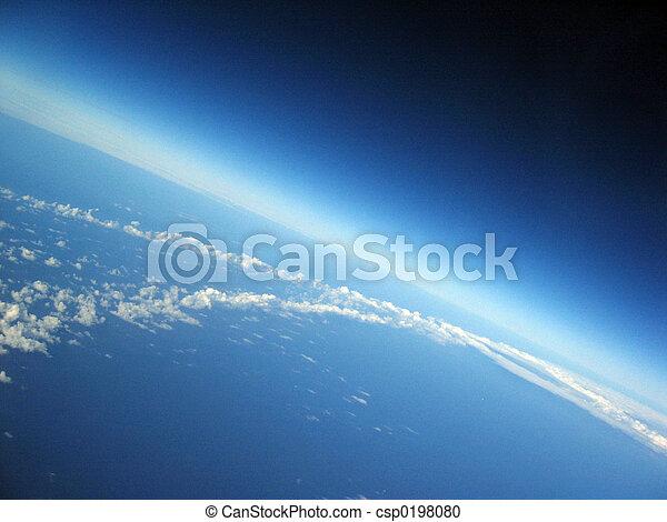 земля, кривизна - csp0198080