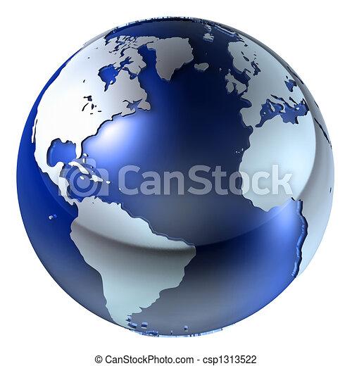 земля, состав, 3d - csp1313522
