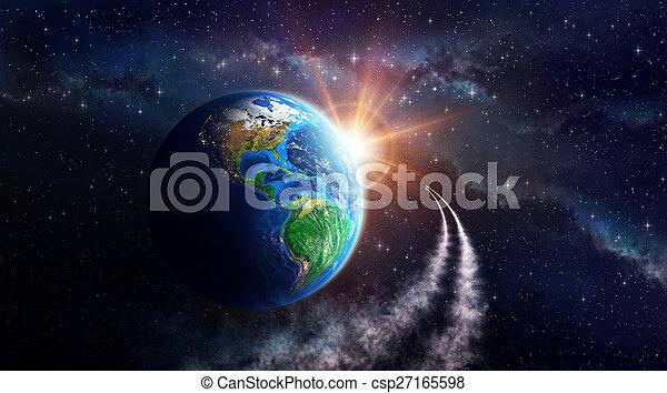 земля, фантазия - csp27165598