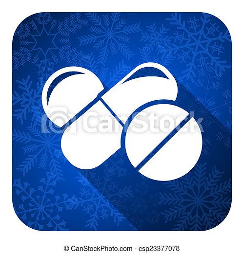 знак, рождество, drugs, pills, квартира, кнопка, лекарственное средство, значок, символ - csp23377078