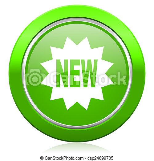 значок, новый - csp24699705