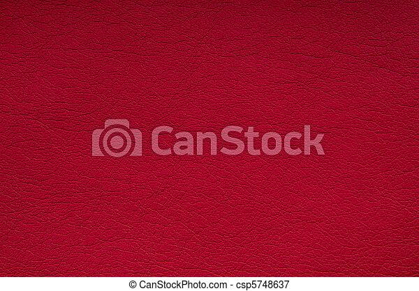 кожа, красный, задний план - csp5748637