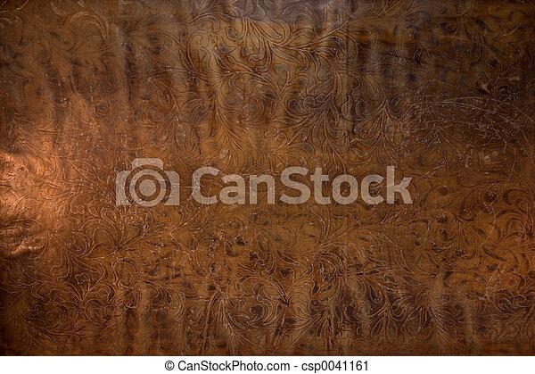 кожа, embossed, старый - csp0041161