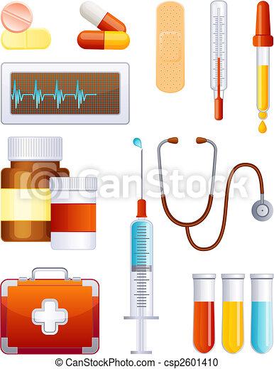 лекарственное средство, задавать, значок - csp2601410