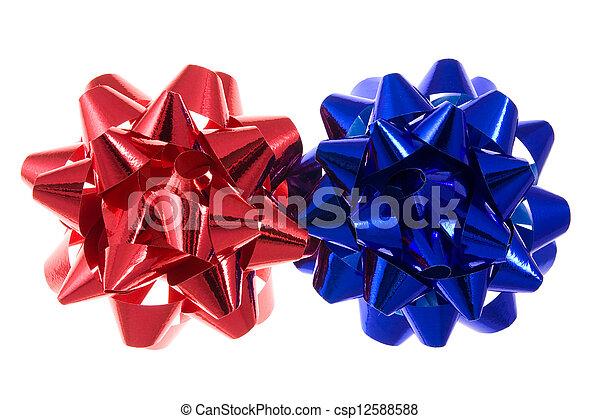 лук, красный, синий - csp12588588