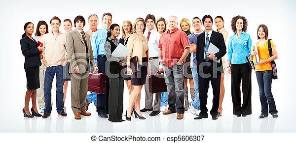 люди, бизнес, команда - csp5606307