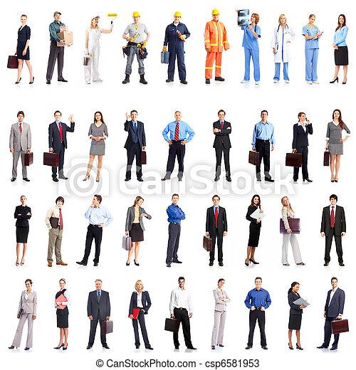 люди, бизнес - csp6581953