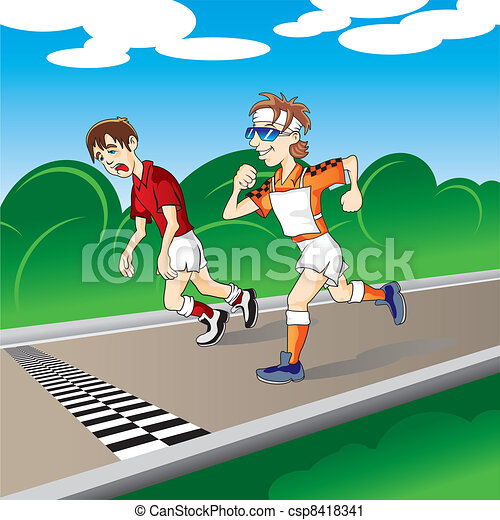 марафон - csp8418341