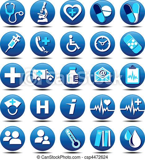 мэтт, забота, здоровье, icons - csp4472624