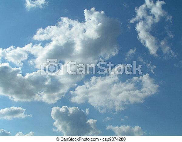 небо, clouds - csp9374280