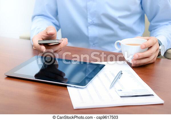 новый, технологии, workflow - csp9617503