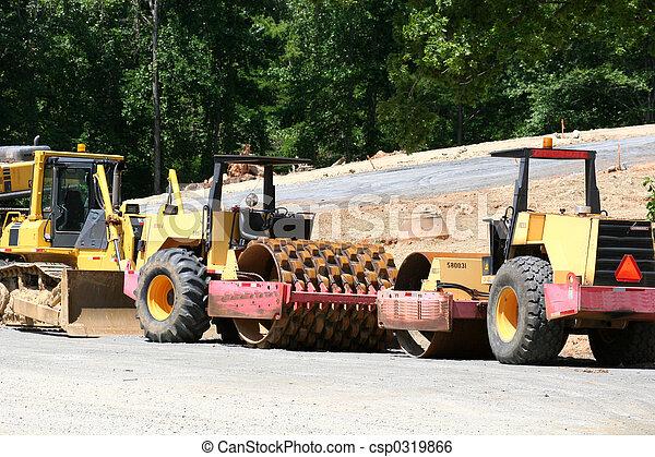 оборудование, дорога - csp0319866