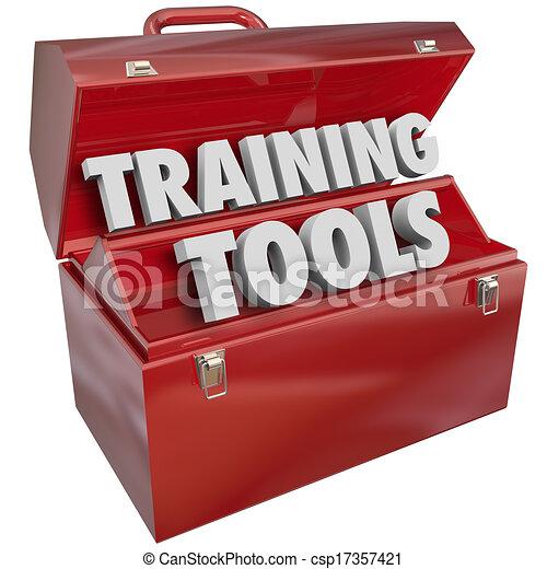 обучение, успех, навыки, learning, новый, ящик для инструментов, инструменты, красный - csp17357421