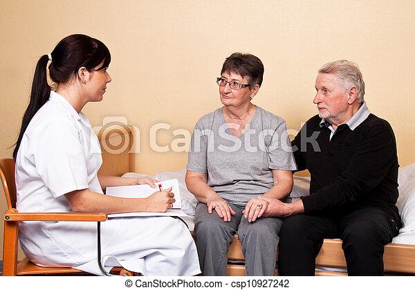 пациент, забота - csp10927242