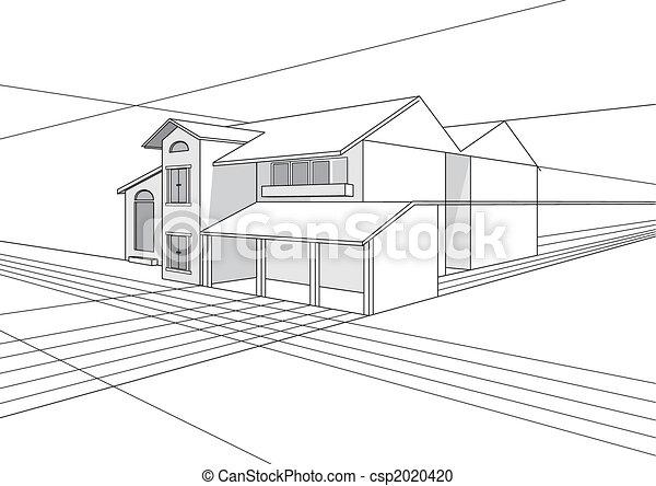 план, здание, дизайн - csp2020420