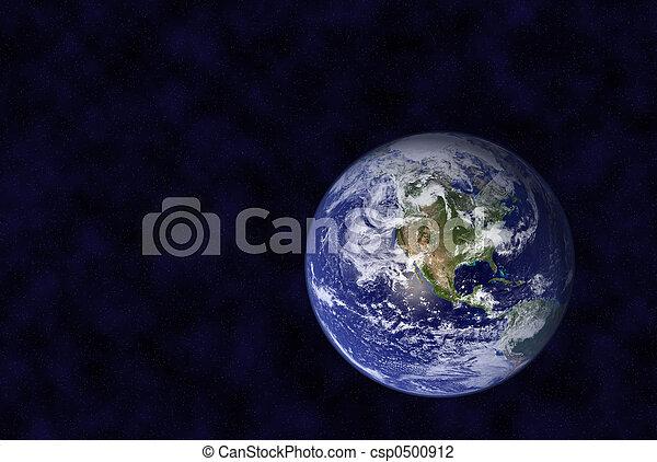 пространство, земля - csp0500912