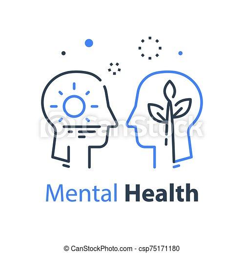 психология, психотерапия, человек, или, почитать, концепция, сам, познавательный, эго, profile, глава - csp75171180