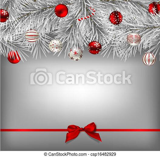 рождество, задний план - csp16482929