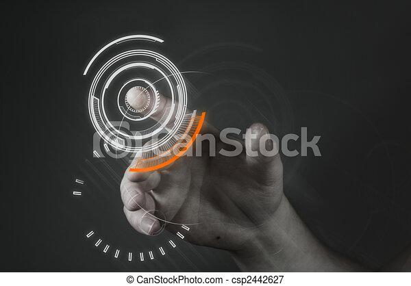 сенсорный экран, технологии - csp2442627