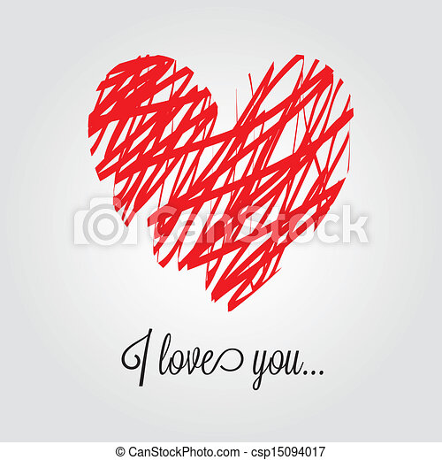 сердце, абстрактные - csp15094017