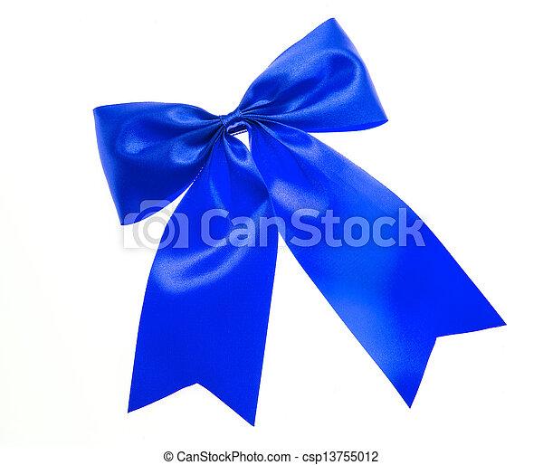 синий, лук, isolated, white. - csp13755012