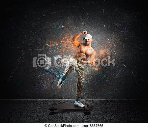современное, фитнес - csp18687665