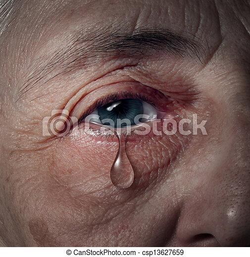 старшая, депрессия - csp13627659
