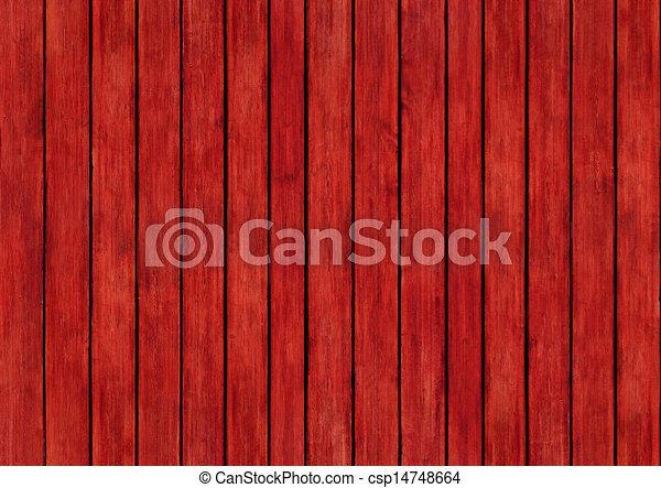 текстура, дерево, дизайн, задний план, panels, красный - csp14748664