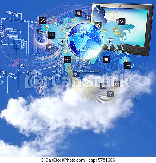 технологии, интернет - csp15781606
