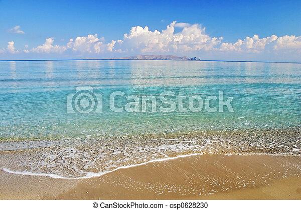 тропический, пляж - csp0628230