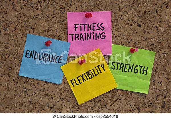 фитнес, обучение, elements, или, goals - csp2554018