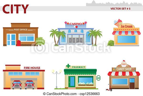 building., общественности, задавать, 5 - csp12536663
