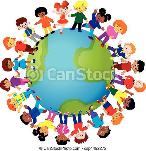 children., счастливый - csp4492272